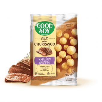Snack Churrasco 25G - Good Soy